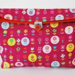 Flowers reusable snack bag ..
